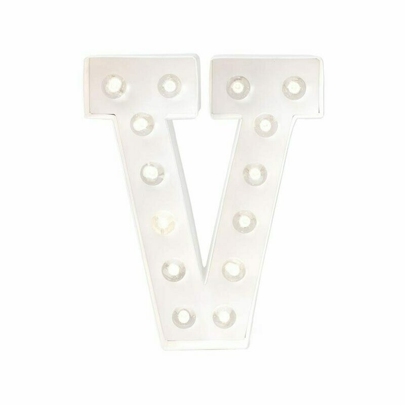 Heidi Swapp™ DIY Marquee Letter Kit - V - White - 8 inches
