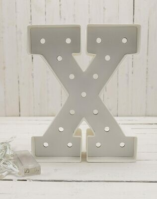 Heidi Swapp™ DIY Marquee Letter Kit - X - White - 8 inches