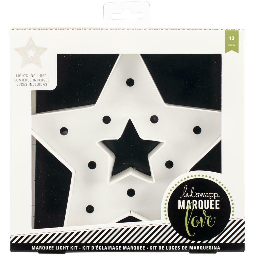 Heidi Swapp Marquee Winter Christmas Star