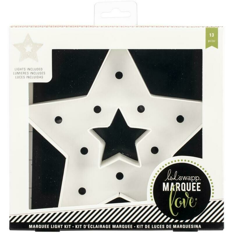 Heidi Swapp Marquee Winter Christmas Star