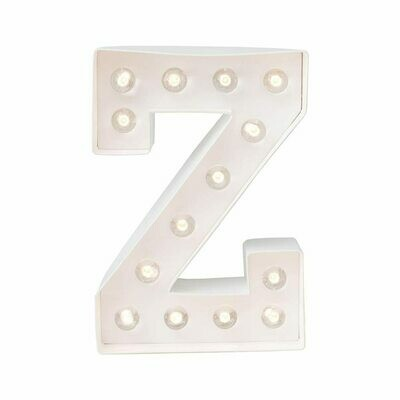 Heidi Swapp™ DIY Marquee Letter Kit - Z - White - 8 inches