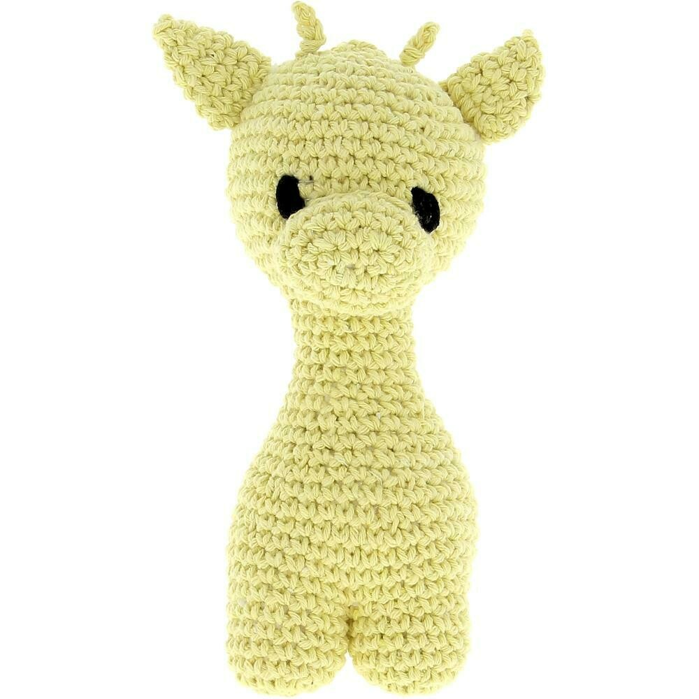 Hoooked Giraffe Yarn Kit- Yellow- Ziggy