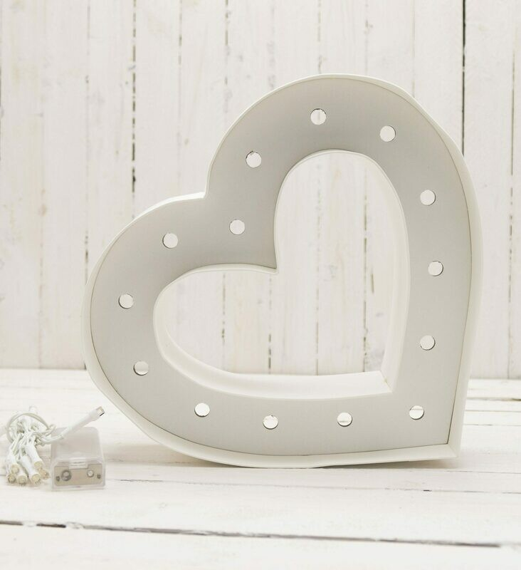 MARQUEE SHAPES - HS - HEART SHAPE