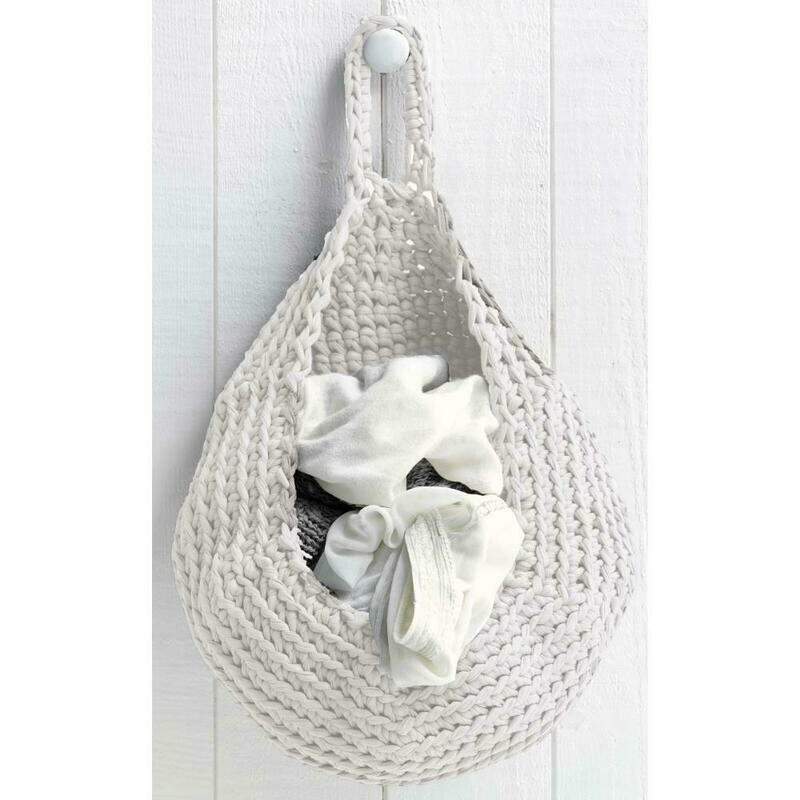 Hoooked Zpagetti Yarn Kit- Storage Bag- Off White