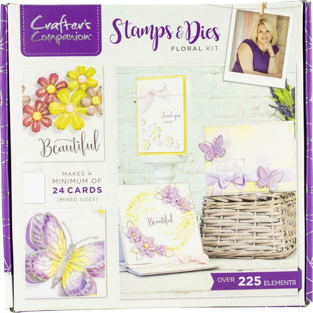 Stamps & Dies Craft Box Kit