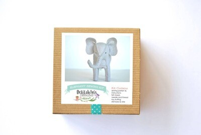 Stuffed Elephant Sewing Craft Kit (ages 9+)