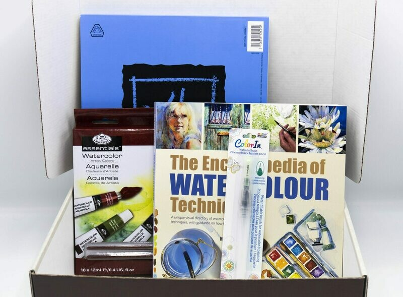 Watercolor Beginner's Pack