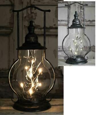 Angel Tears Steeple Lamp