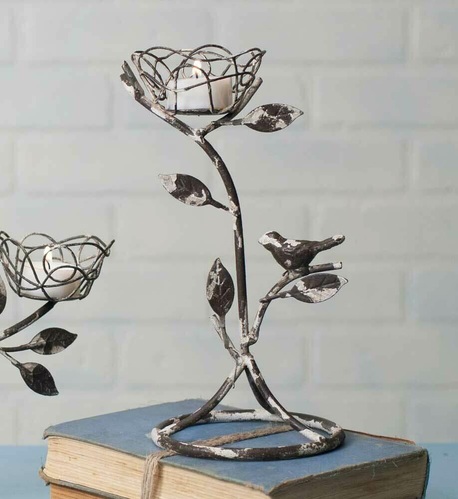 Birds Nest Single Tealight Holder