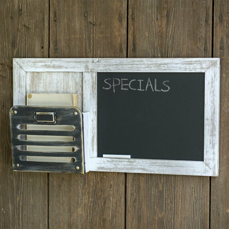 Chalkboard and Single Pocket Organizer (Special Order)