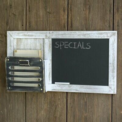 Chalkboard and Single Pocket Organizer (Special Order)