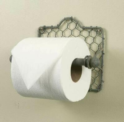 Chicken Wire Toilet Paper Holder (Special Order)