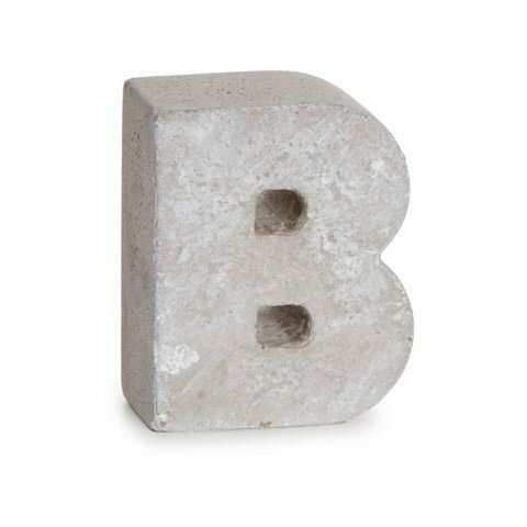 Darice® Mini Cement Letters Decor - Letter B