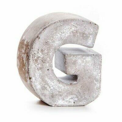 Darice® Mini Cement Letters Decor - Letter G
