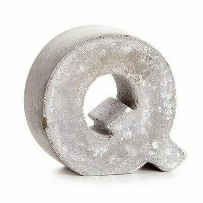 Darice® Mini Cement Letters Decor - Letter Q