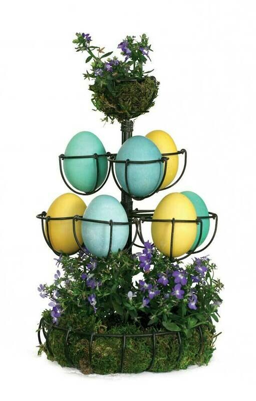 Egg Tree- Antique Black