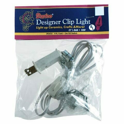Electrical cord with Light (6 foot) White