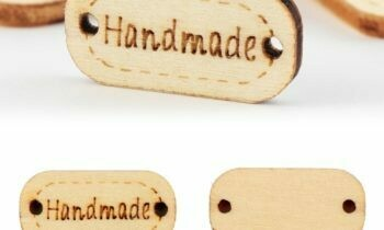100PCS/Bag Vintage Handmade Wooden 2 Hole Buttons - Special Order (FREE SHIPPING)