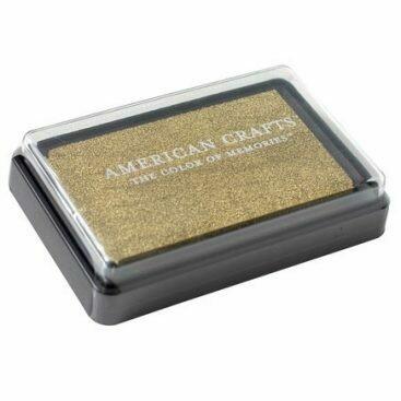 AC DIY3 Stamp Ink Pad - Gold