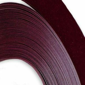 Acid Free Deep Red Quilling Strips 1/4