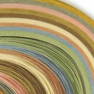 Acid Free Parchment Variety Quilling Strips 1/4