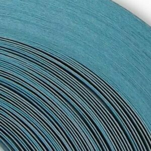Acid Free Sky Blue Quilling Strips 1/4