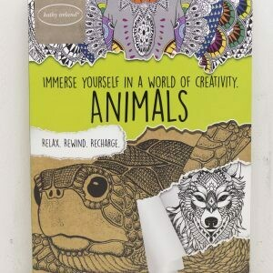 Adult coloring book Kathy Ireland Animals