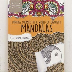 Adult coloring book Kathy Ireland Mandalas
