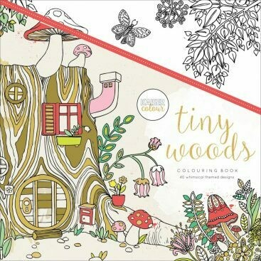Adult Coloring Book- Tiny Woods