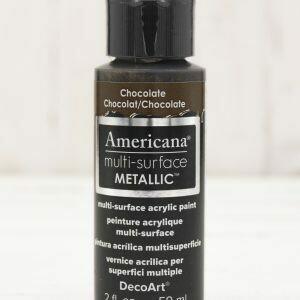 Americana Multi Surface Paint - Metallic Chocolate - 2 Ounces