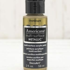 Americana Multi Surface Paint - Metallic Champagne - 2 Ounces