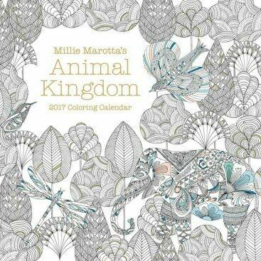 Animal Kingdom 2017 Coloring Calendar