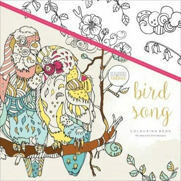 Bird Song Color Book