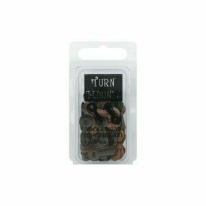 Black and Brown Large Turn Mounts (50 pc)