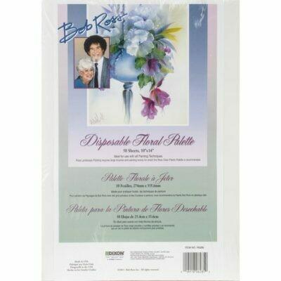 Bob Ross Disposable Floral Palette Paper (50 Sheets)