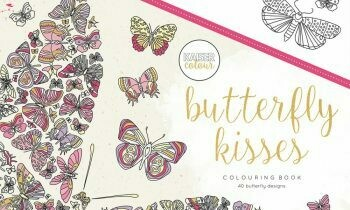 Butterfly Kisses Color Book