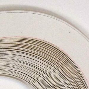 Craft Harbor Bright White Quilling Strips 5/8