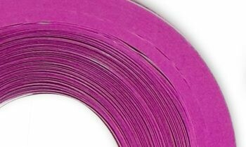 Craft Harbor Cosmic Pink Quilling Strips 1/4