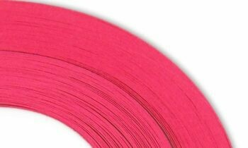 Craft Harbor Fuchsia Quilling Strips 1/8