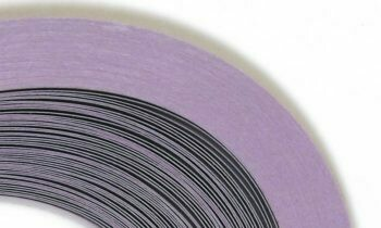 Craft Harbor Lavender Quilling Strips 1/8
