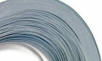 Craft Harbor Parchment Blue Quilling Strips 1/8