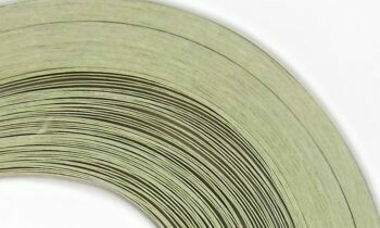 Craft Harbor Parchment Green Quilling Strips 1/8