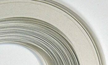 Craft Harbor Pearlized White Quilling Strips 1/4