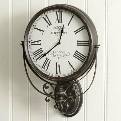 Kensington Station Wall Clock (Special Order)