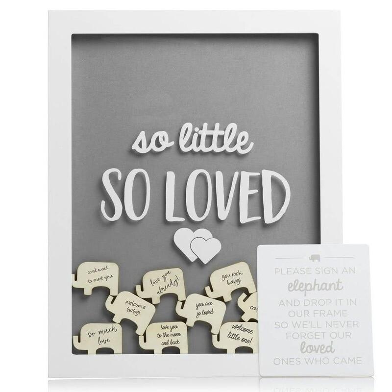 Little Wishes Elephant Signature Frame 15