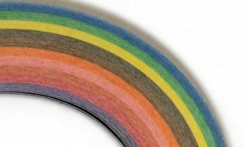 Craft Harbor Watercolor Assortment Quilling Strips 1/8