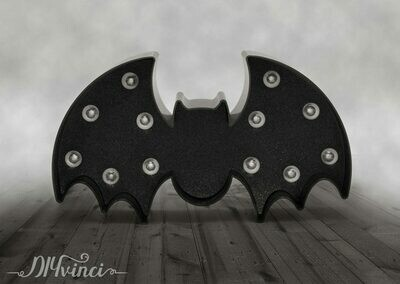 MARQUEE SHAPES - HS - HALLOWEEN - PLASTIC - BAT
