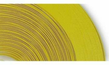 Craft Harbor Yellow Quilling Strips 1/4 50 Pieces