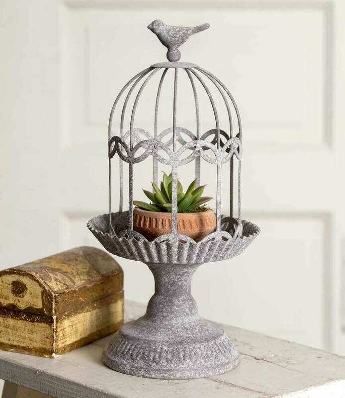 Songbird Gazebo Cloche with Base (Special Order)