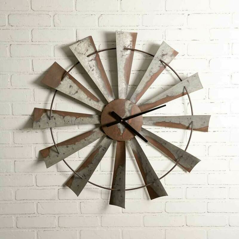 Windmill Wall Clock (Special Order)